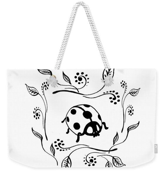 Cute Ladybug Baby Room Decor I Weekender Tote Bag