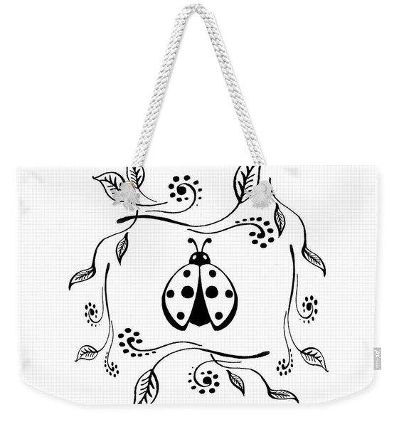 Cute Ladybug Baby Room Decor Vi Weekender Tote Bag