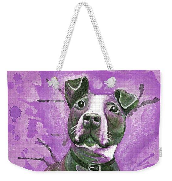 Cute Puppy Weekender Tote Bag