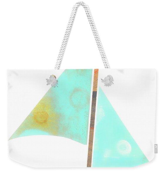 Cute Sailboat Collage 507 Weekender Tote Bag
