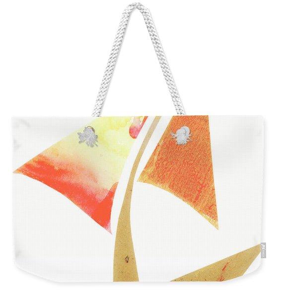 Cute Sailboat Collage 517 Weekender Tote Bag