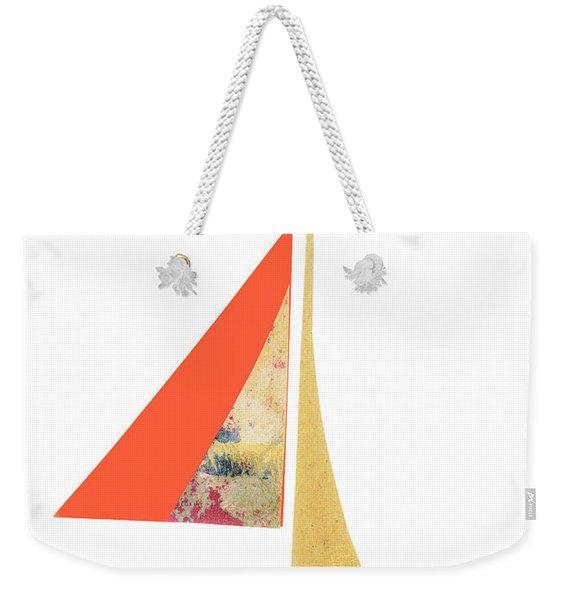 Cute Sailboat Collage 518 Weekender Tote Bag