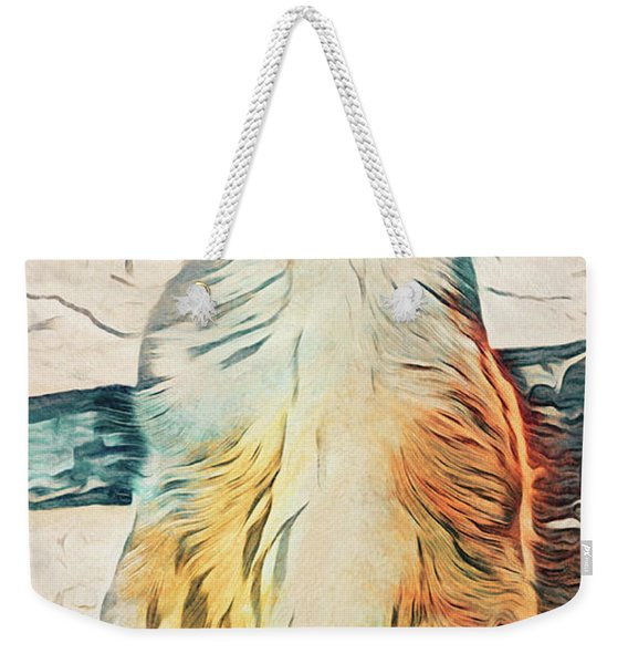 Cute Scottish Fold Cat Weekender Tote Bag