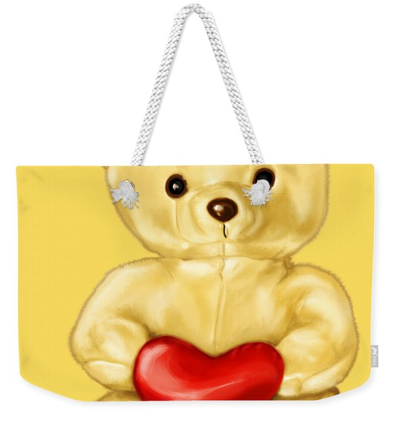 Cute Teddy Bear Hypnotist Weekender Tote Bag