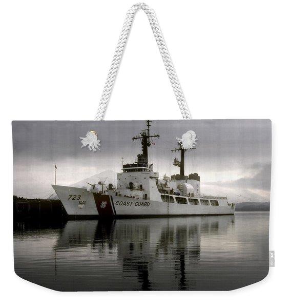 Cutter In Alaska Weekender Tote Bag