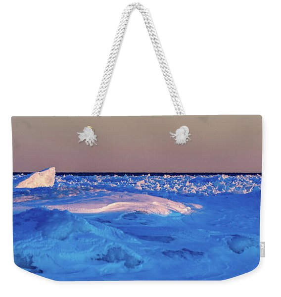 Weekender Tote Bag featuring the photograph Cutting Edge by Doug Gibbons