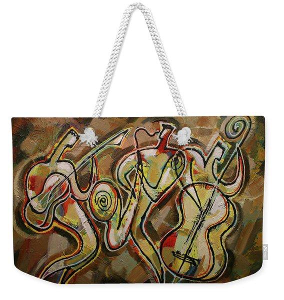 Cyber Jazz Weekender Tote Bag