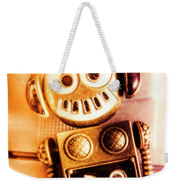 Cyborg Dance Party Weekender Tote Bag