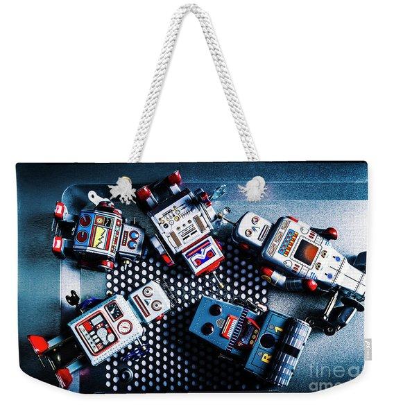 Cyborg Technology Reset Weekender Tote Bag