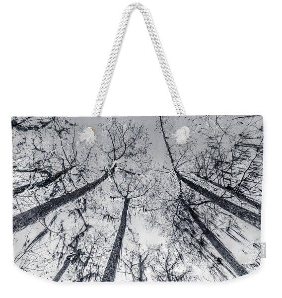 Cypress Abstract Weekender Tote Bag