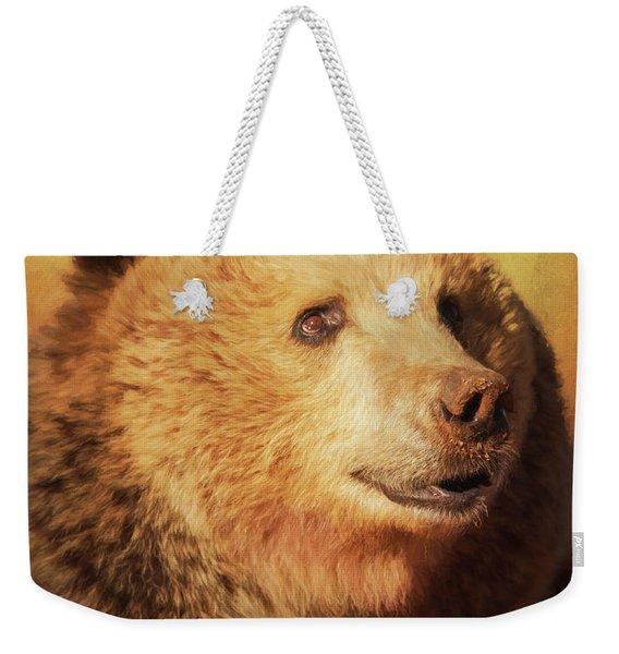 Cypress The Bear Weekender Tote Bag