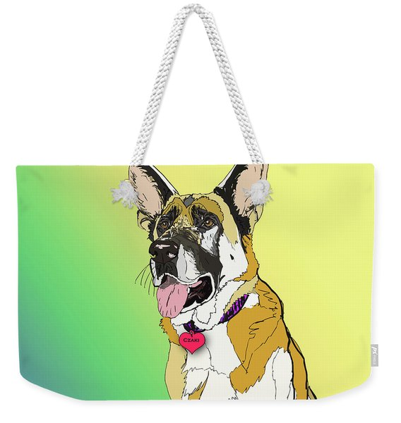 Czaki In Digi Weekender Tote Bag
