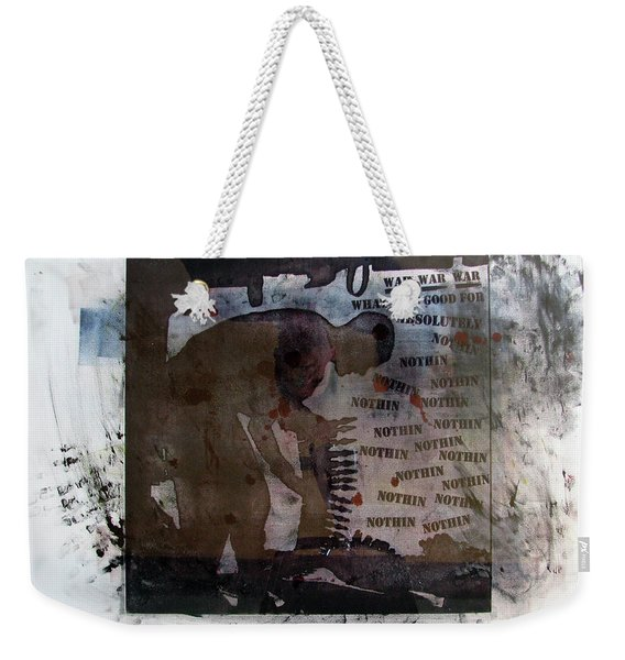 D U Rounds Project, Print 1 Weekender Tote Bag