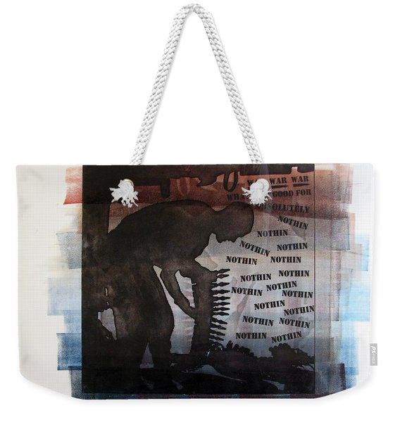 D U Rounds Project, Print 4 Weekender Tote Bag