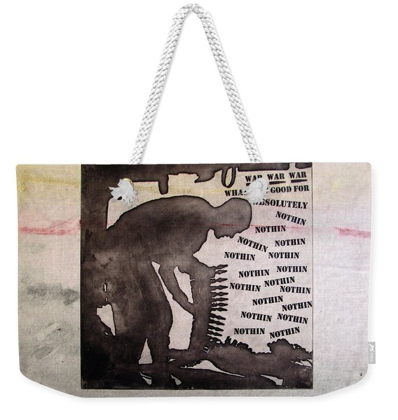 D U Rounds Project, Print 10 Weekender Tote Bag