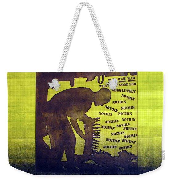 D U Rounds Project, Print 11 Weekender Tote Bag