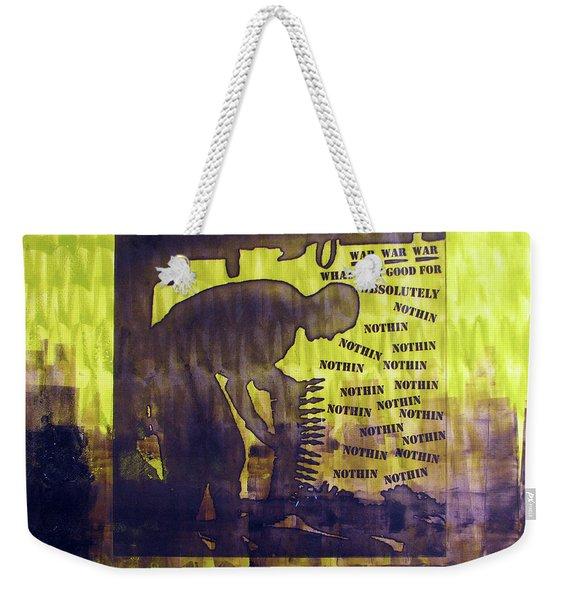 D U Rounds Project, Print 12 Weekender Tote Bag