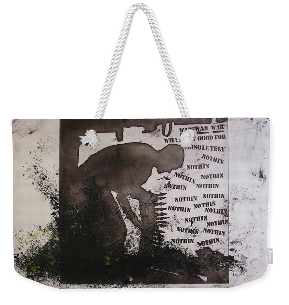 D U Rounds Project, Print 13 Weekender Tote Bag