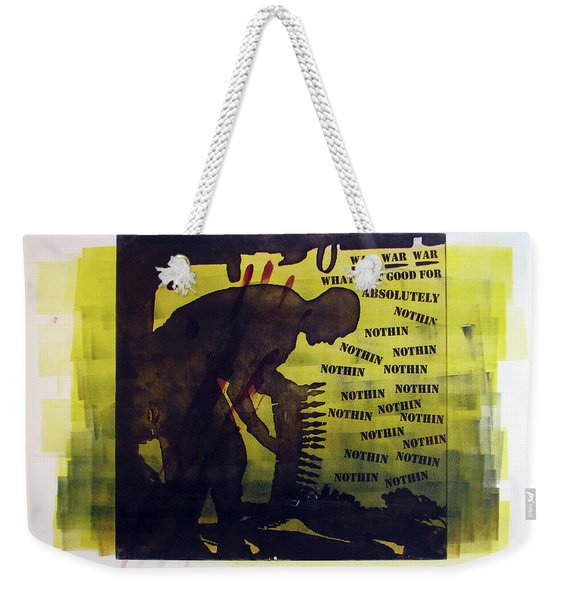 D U Rounds Project, Print 16 Weekender Tote Bag