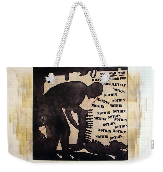 D U Rounds Project, Print 17 Weekender Tote Bag