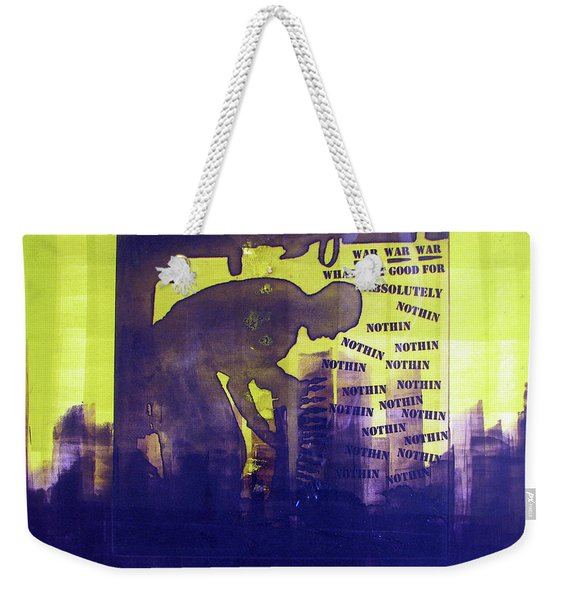 D U Rounds Project, Print 24 Weekender Tote Bag