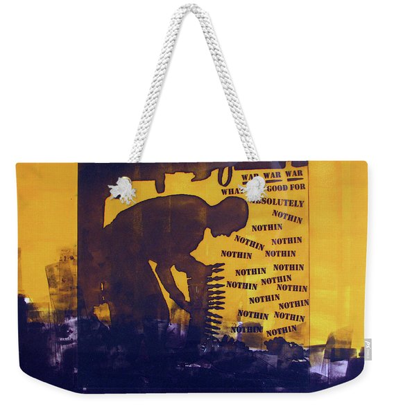 D U Rounds Project, Print 25 Weekender Tote Bag