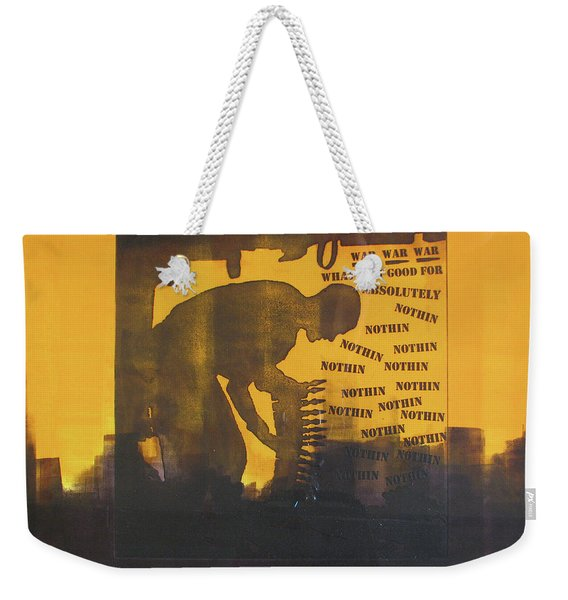 D U Rounds Project, Print 27 Weekender Tote Bag