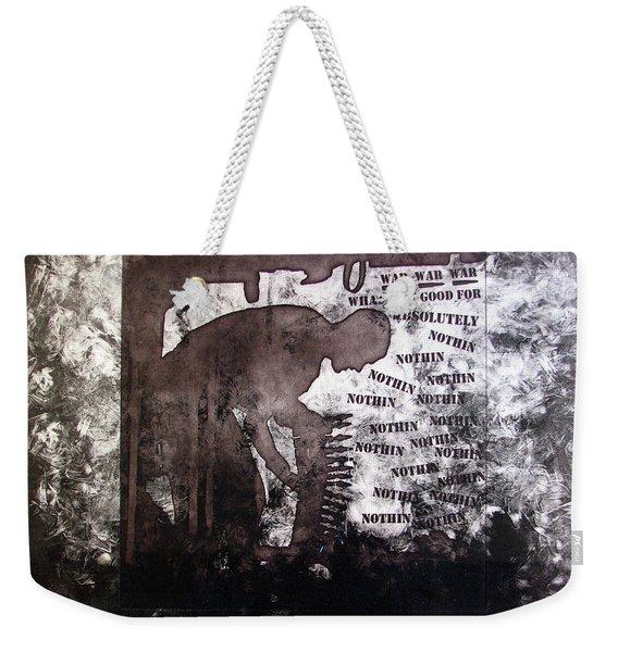 D U Rounds Project, Print 28 Weekender Tote Bag
