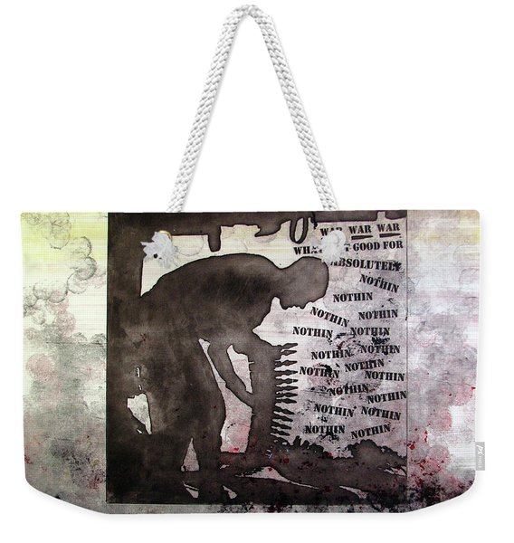 D U Rounds Project, Print 30 Weekender Tote Bag