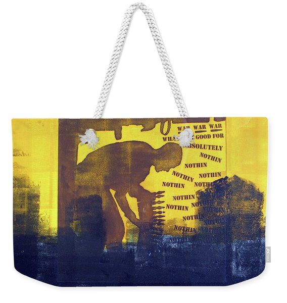 D U Rounds Project, Print 31 Weekender Tote Bag