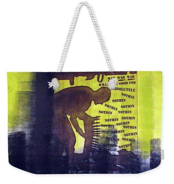 D U Rounds Project, Print 32 Weekender Tote Bag