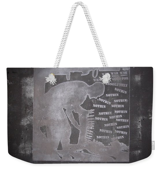 D U Rounds Project, Print 33 Weekender Tote Bag