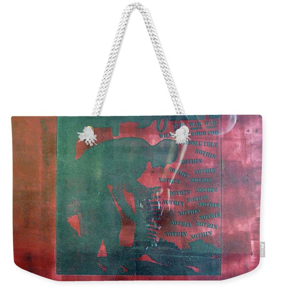 D U Rounds Project, Print 34 Weekender Tote Bag