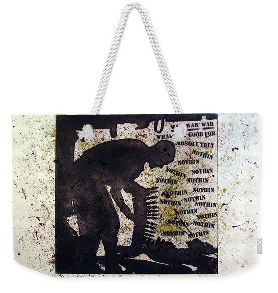 D U Rounds Project, Print 35 Weekender Tote Bag