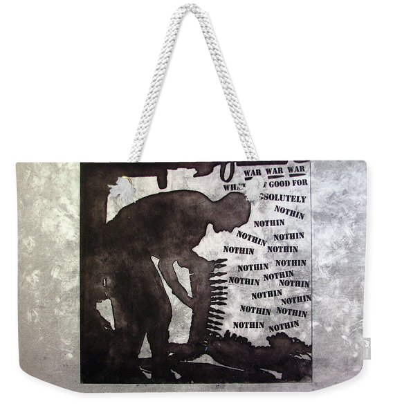 D U Rounds Project, Print 36 Weekender Tote Bag