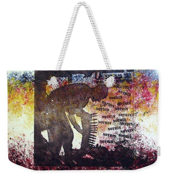 D U Rounds Project, Print 37 Weekender Tote Bag