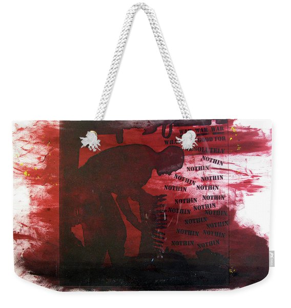 D U Rounds Project, Print 38 Weekender Tote Bag