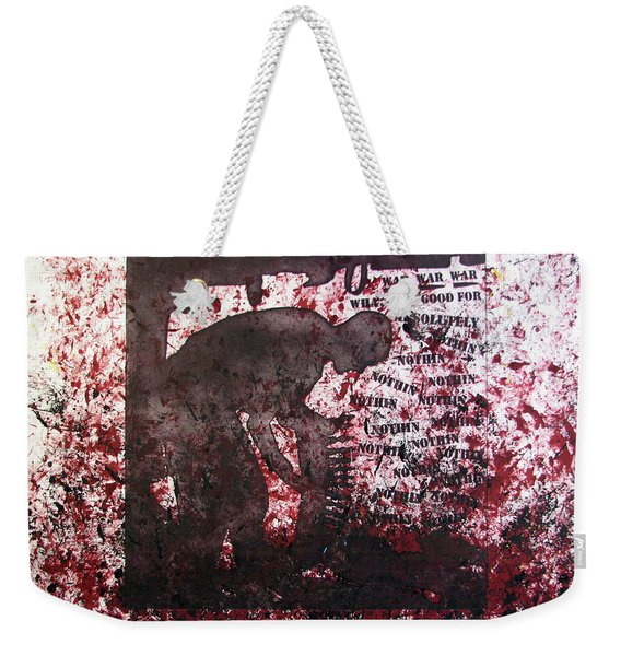 D U Rounds Project, Print 39 Weekender Tote Bag