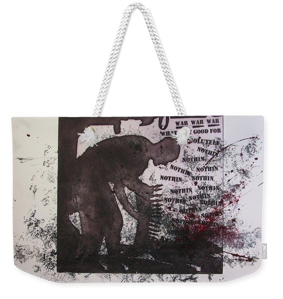 D U Rounds Project, Print 40 Weekender Tote Bag