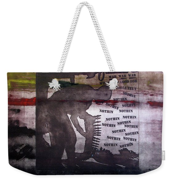 D U Rounds Project, Print 42 Weekender Tote Bag