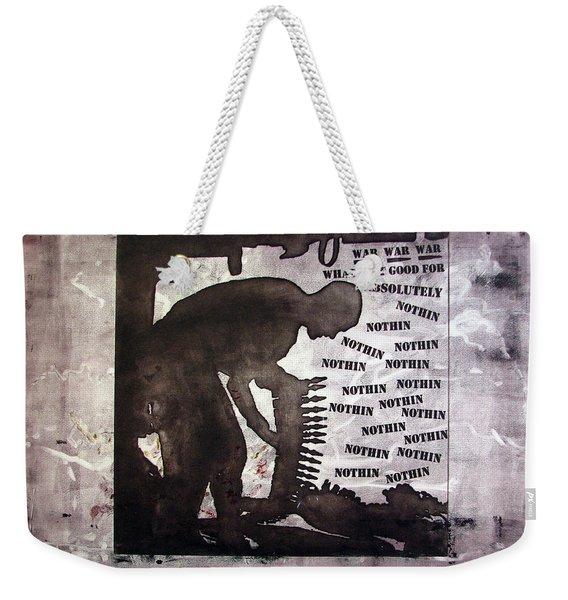 D U Rounds Project, Print 43 Weekender Tote Bag