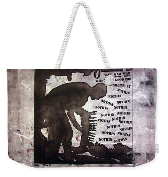 D U Rounds Project, Print 43 Weekender Tote Bag