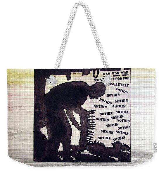 D U Rounds Project, Print 44 Weekender Tote Bag