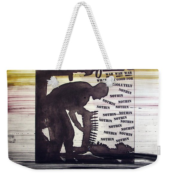 D U Rounds Project, Print 45 Weekender Tote Bag