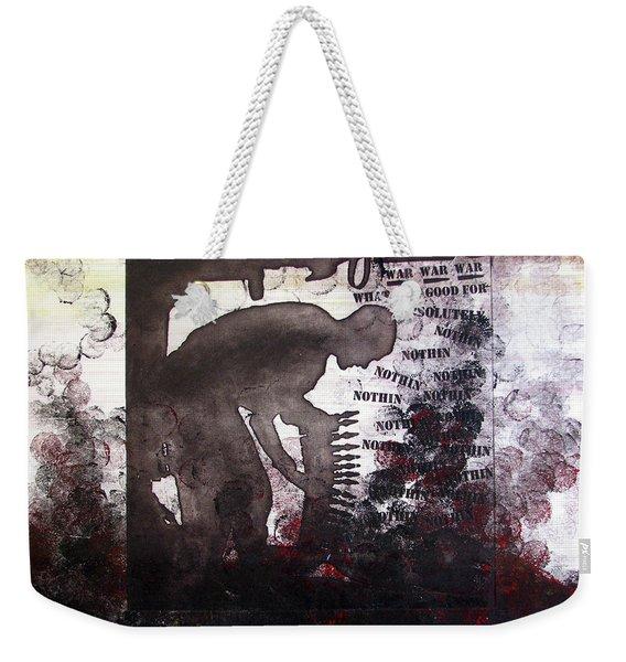D U Rounds Project, Print 46 Weekender Tote Bag