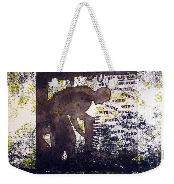 D U Rounds Project, Print 47 Weekender Tote Bag