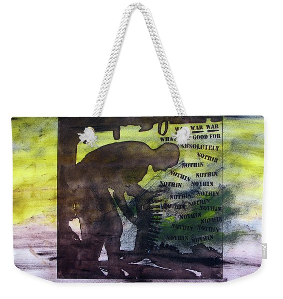 D U Rounds Project, Print 48 Weekender Tote Bag