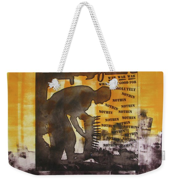 D U Rounds Project, Print 49 Weekender Tote Bag