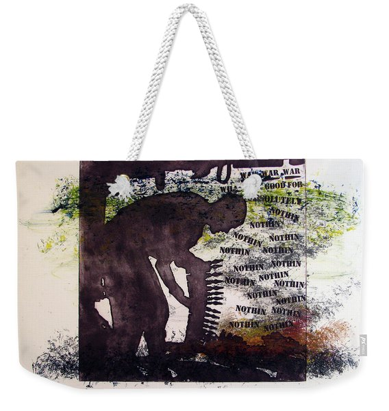 D U Rounds Project, Print 5 Weekender Tote Bag