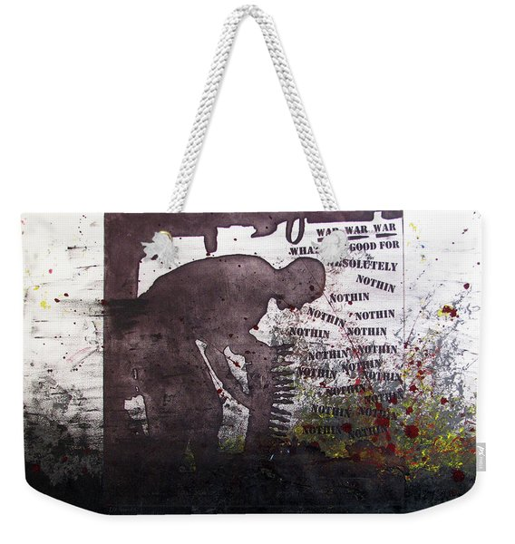 D U Rounds Project, Print 51 Weekender Tote Bag